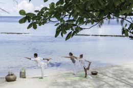 YOGA IN THE SEYCHELLES
